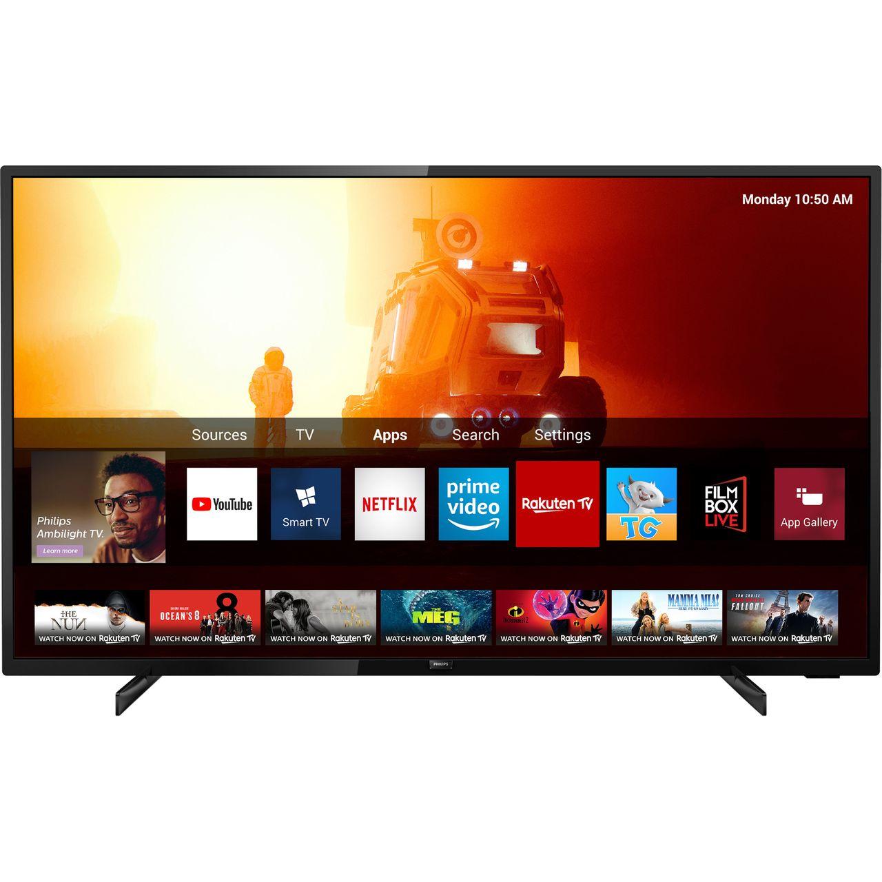 "Philips Freesat 58"" Smart 4K Ultra HD TV £419 @ AO"