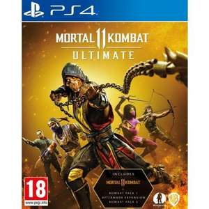 [PS4] Mortal Kombat 11 Ultimate - £26.95 delivered @ The Game Collection