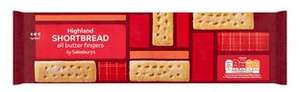Sainsbury's all butter Highland shortbread 400g - £1 (+ Delivery Charge / Min Spend Applies) @ Sainsbury's