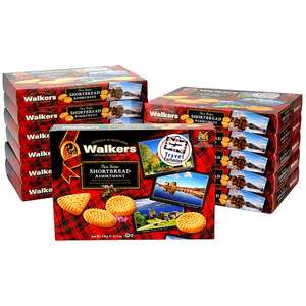 12 x Walkers Pure Butter Shortbread Assortment 320g Boxes £15 @ Yankee Bundles