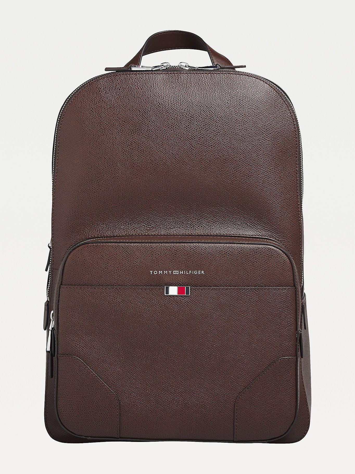 Tommy Hilfiger business leather backpack £127 Tommy Hilfiger Shop