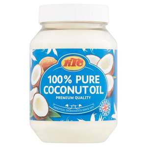 KTC Coconut Oil 500ml £1 (Min Spend & Delivery Charge apply) @ Morrisons
