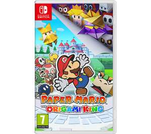 Paper Mario + yoshi crafted world on Nintendo switch £62.98 using code at Currys PC World