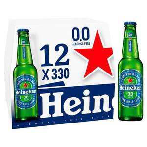 Heineken Alcohol free 12 Pack, £6 (+ Delivery Charge / Minimum Spend Applies) @ Asda