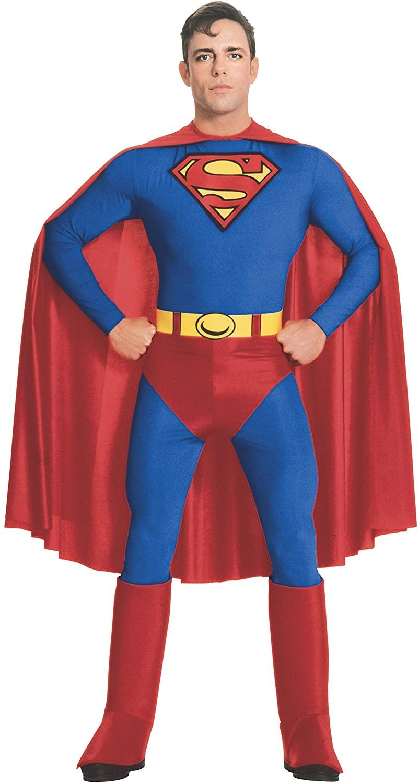 Rubie's Official Adult's Superman Deluxe Costume - Medium £17.99 (Prime) + £4.49 (non Prime) at Amazon