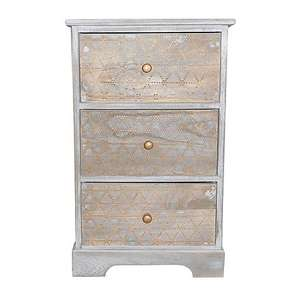 50% off Washed colourway Three drawer unit £26.45 Delivered From Dunelm