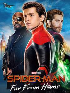 Spiderman: Far From Home 4K UHD £5.99 TO OWN @ Amazon Prime Video