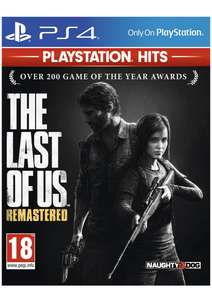 PS4 : The Last of Us Remastered | GT Sports | Uncharted (Lost Legacy |A Thief's End) | Until Dawn | £7.99 Each @ SimplyGames