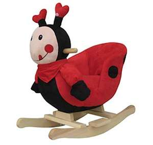 Plush LADYBIRD Rocking Chair on Wooden Rockers with Sounds 12m+ Used Like New £18.81 prime / £23.30 nonPrime @ amazon warehouse