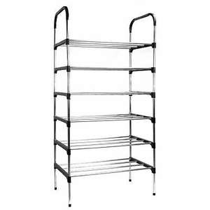 6 Tier Shoe Rack Lightweight Shoe Cabinet for £9.99 delivered @ eBay / roovcouk