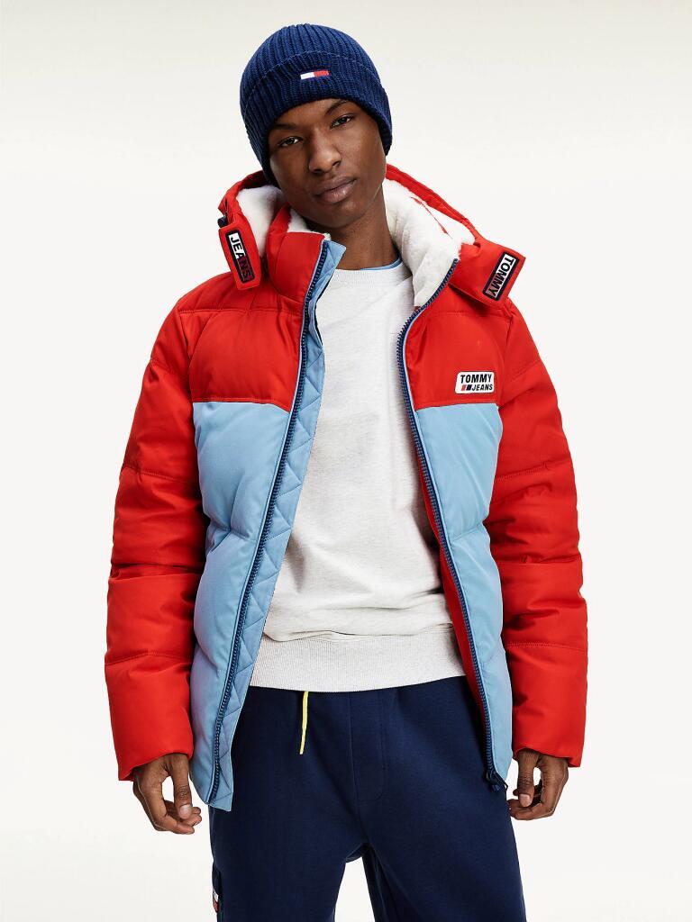 TOMMY JEANS Colour-Blocked Hooded Jacket for £95 delivered at Tommy Hilfiger