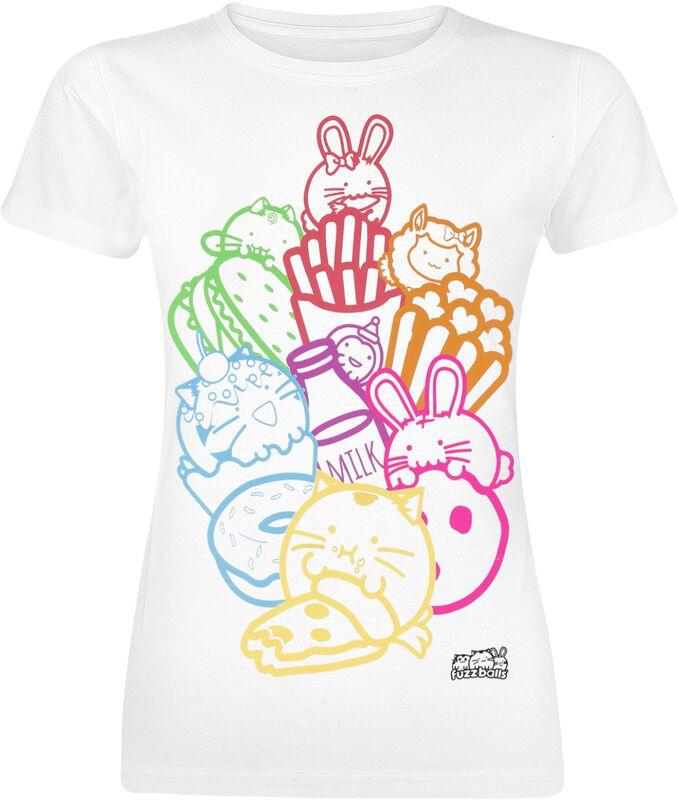 Fuzzballs Junk Food Shirt £13.98 delivered @ EMP