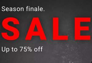 Up to 75% OFF + Extra 20% off sale with code Delivery £1 on £35 Spend £3.99 below From Warehouse
