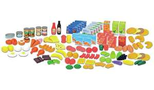 Chad Valley 120 Piece Play Food Set for £10 with click and collect or 2 for £15 (+£3.95 delivery) @ Argos