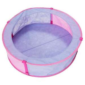 Chad Valley Pink Pop Up Ball Pit (no balls included) - £5 Using Click & Collect / +£3.95 Delivery @ Argos