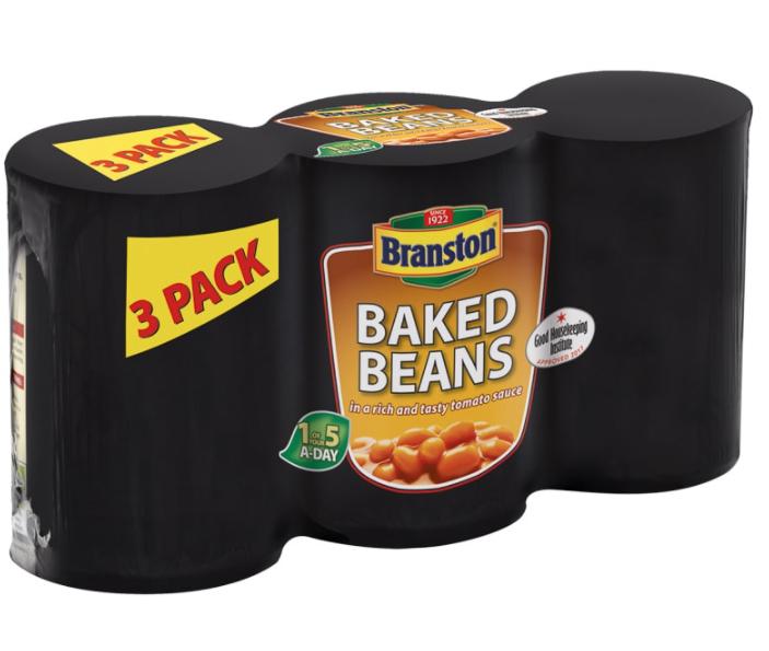 Branston baked beans 3 pack 78p @ Asda Wembley