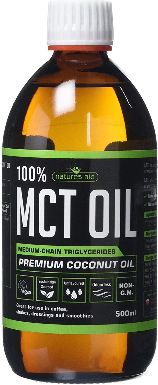 Natures Aid 100 Percent MCT Oil, Premium Coconut Oil £11.30 (+£4.49 Non Prime) @ Amazon