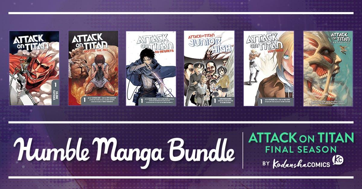 Humble Manga Bundle: Attack on Titan Final Season by Kodansha - 73p @ Humble Bundle