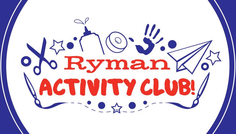 Free Activity Club Downloads provided by Ryman