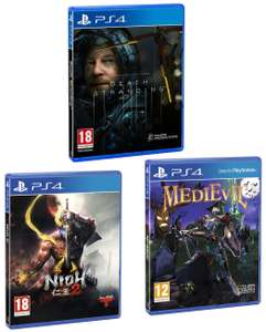 [PS4] Death Stranding / Medievil - £10 or Nioh 2 - £5 (+ Delivery Charge / Minimum Spend Applies) @ Asda