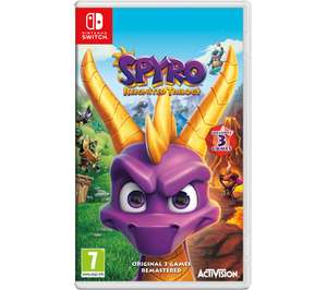 Nintendo Switch Spyro Reignited Trilogy Nintendo Switch £22 (+ Delivery Charge / Minimum Spend Applies) @ Asda