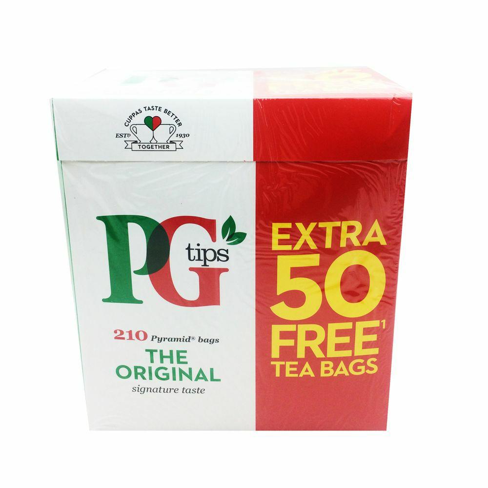 4 packs of PG Tips 210 (840 in total) £10 @ farmfoods Yardley