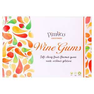 Pimlico Vegan Wine Gum Gift Box 200g - 50p (Min Spend & Delivery Charge apply) @ Morrisons
