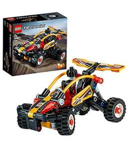 LEGO Technic 42101 Buggy to Racing Car 2in1 Building Set, Off Road & Race Vehicles Collection £6.00 Prime/+ £4.49 non Prime at Amazon