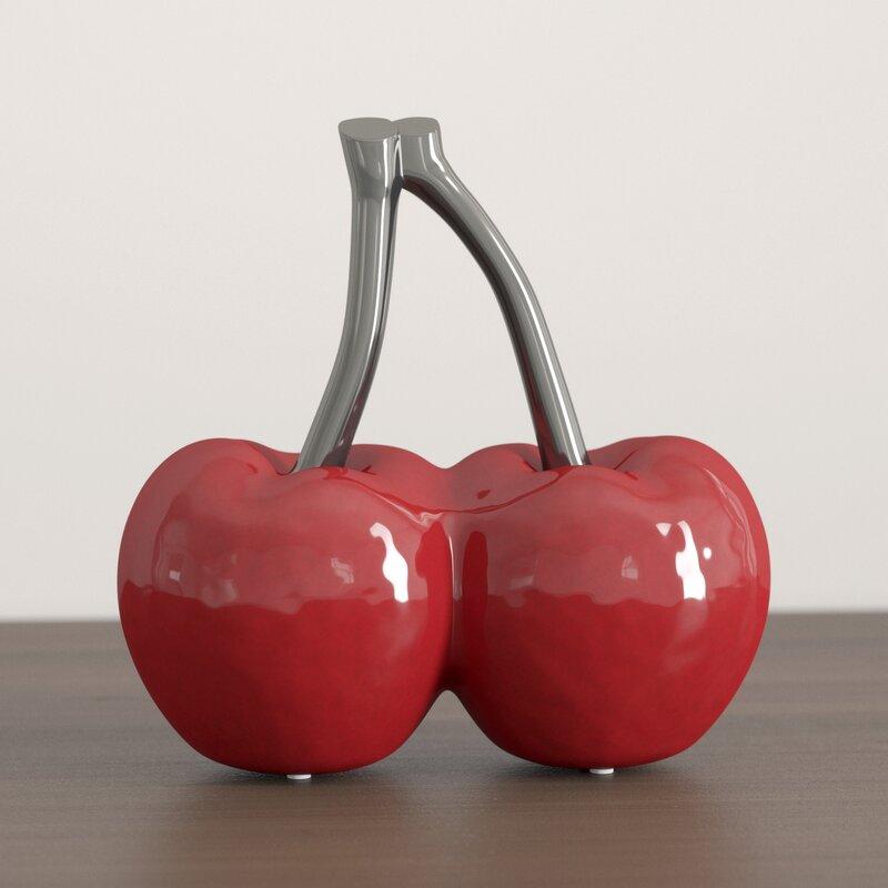 Art Cherries Decoration Peralta Sculpture £27.98 delivered at Wayfair