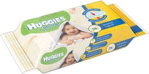 ONLY 1 PER PERSON - Huggies Natural Care Baby Wipes, 56 Wipes £1 prime / £5.49 nonPrime at Amazon