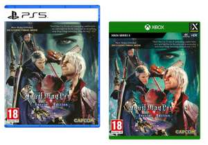 Devil May Cry 5 Special Edition (Xbox One I Series X) - £15.99 // (PS5) - £19.99 With Code @ Boss_Deal/ebay