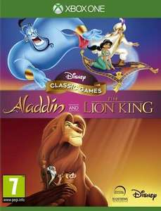 Disney Classic Games Aladdin and The Lion King (Xbox One) Free UK P&P Brand New - £13.59 @ Boss Deals/eBay