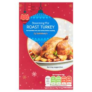 Sainsbury's Seasoning for Roast Turkey Exp Oct 2021 - 4p @ Sainsburys Bournemouth ( talbot heath )