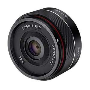 Samyang AF 35mm F2.8 lns in Sony FE Full Frame Mount £175.20 at srsmicrosystems ebay