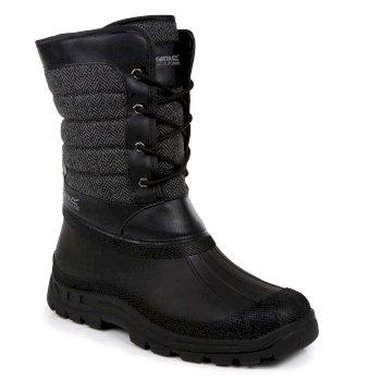 Regatta Men's Okemo Snow Boots Black for £31.90 delivered @ Regatta
