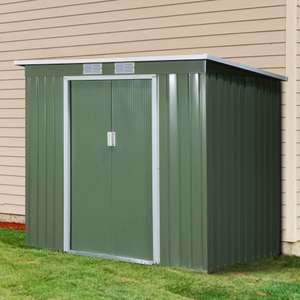 7 x 4ft Metal Garden Storage Shed with Foundation, Double Door & Ventilation Windows £167.99 delivered, using code @ eBay / Outsunny
