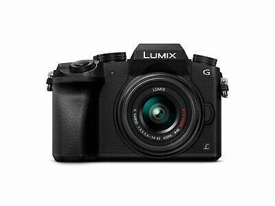 Box Open Panasonic Lumix DMC-G7KEB-K DSLM Camera 4K HD Recording 16 MP 14-42mm £424.99 @ Panasonic eBay