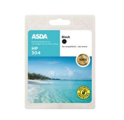 HP304 Black Ink Cartridge £7 (+ delivery / minimum basket charges apply) @ Asda