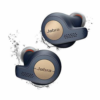 Jabra Elite Active 65t Bluetooth Wireless Headphones (Manufacturer Refurbished) 2-year warranty £43.33 W/Code @ jabra-company-store-uk/eBay