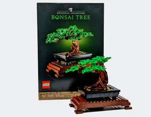 LEGO Art And Creator Expert Bonsai Tree - Model 10281 (18+ Years) £39.99 at Costco