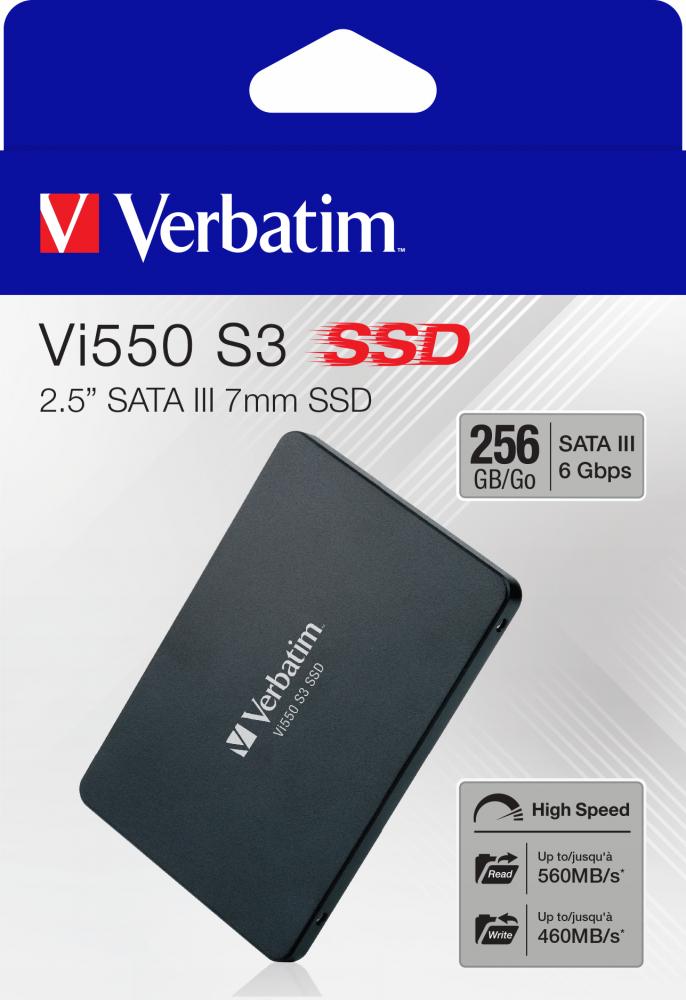 Verbatim Vi550 S3 SSD 256GB 49351 £35.92 delivered via Paperstone