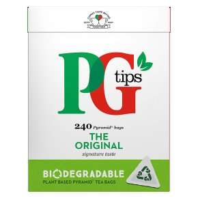 PG Tips 240 bags for £2.99 (+ Delivery Charge / Minimum Spend Applies) @ Waitrose & Partners
