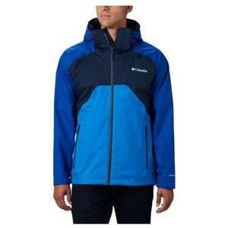 COLUMBIA Mens Rain Scape Jacket (Collegiate Navy/Azul/Azure Blue) £46.38 Delivered (With Code) @ Sportpursuit