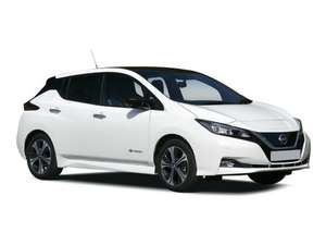 Two years lease Nissan Leaf N-Tec 62kwh 10k miles £248.68 monthly 24 months 10,000 mpa £8045 @ Leasecar
