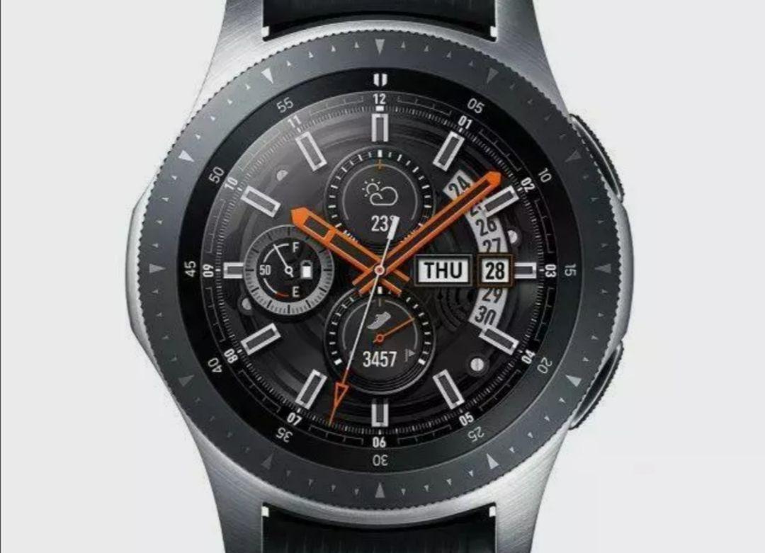 Samsung Galaxy Watch 46mm SM-R800 4GB GPS Tracker Silver - Watch Face Only - Used Grade B £67.99 via xsitems_ltd / eBay