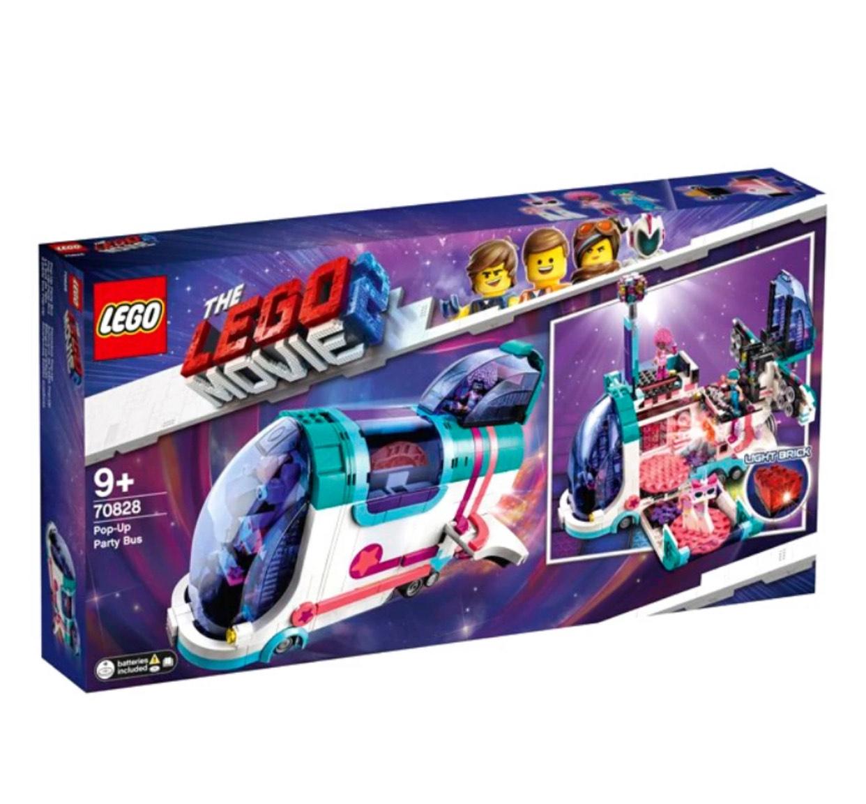 LEGO 70828 POP-UP PARTY BUS SET £30/ LEGO 70830 SWEET MAYHEM'S SYSTAR STARSHIP SET £20 @ Poundtoy