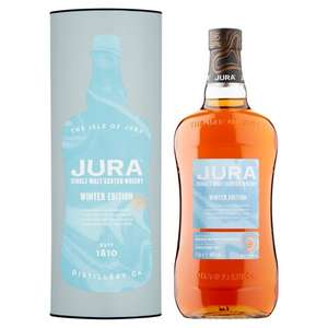 Jura Winter Edition Malt Whisky 1Litre £30 (+ Delivery Charge / Minimum Spend Applies) at Tesco