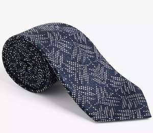 John Lewis Silk ties reduced to £9 + £3.50 delivery at John Lewis & Partners - Different colours and patterns in stock
