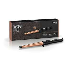 BaByliss Bronze Shimmer Curling Wand £10 + £3.50 delivery at Boots