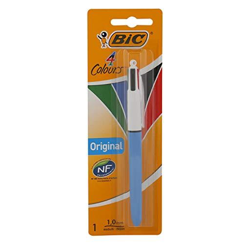 BIC 4 Colours Original Ballpoint Pen Medium Point (1.0 mm) – Pack of 1 - £1 Prime (+£4.49 Non Prime) @ Amazon